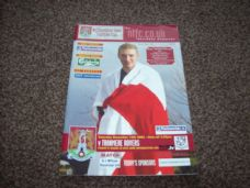 Northampton Town v Tranmere Rovers, 2002/03